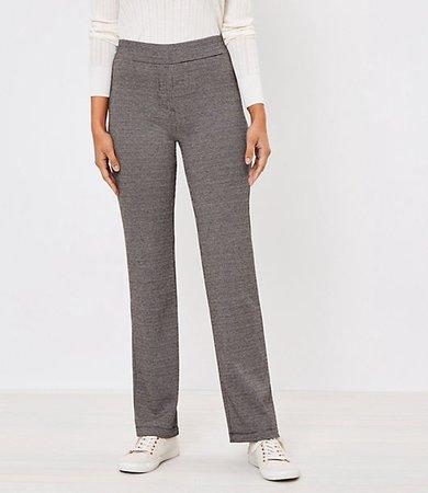 Petite Straight Leg Pull On Pants