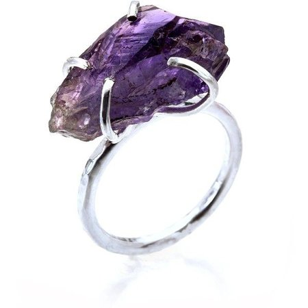 Amethyst Stone/Crystal Ring