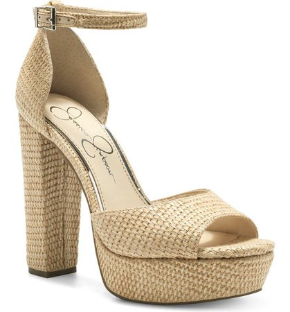 Jessica Simpson Pisila Platform Sandal (Women) | Nordstrom