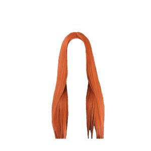 Long Straight Orange Red Hair Ginger