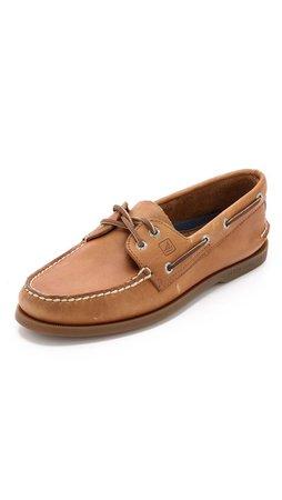 Brown Sperrys