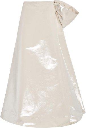 Marc Jacobs Faille Bustle Skirt