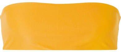 All Around Bandeau Bikini Top - Mustard
