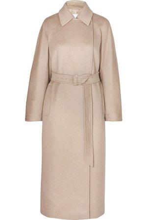 Max Mara   Jago belted cashmere and wool-blend coat   NET-A-PORTER.COM