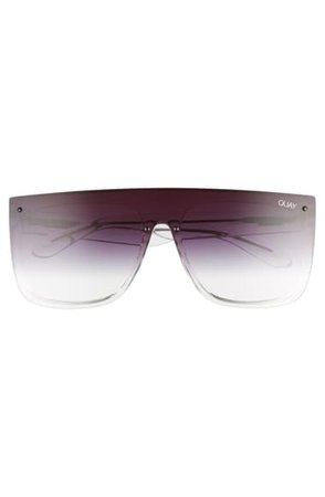 Quay Australia x JLO Jaded 146mm Flat Top Sunglasses | Nordstrom