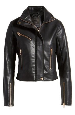 BLANKNYC The Essentials Faux Leather Moto Jacket | Nordstrom