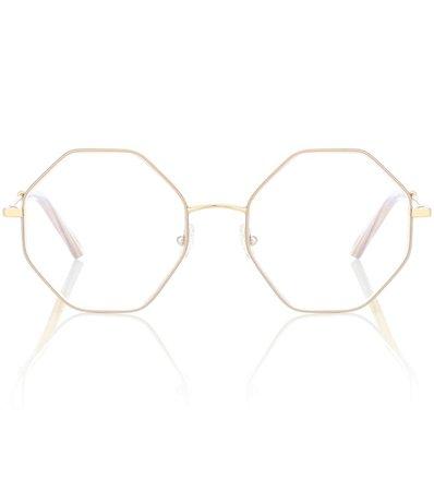 Palma Octagonal Glasses - Chloé | mytheresa.com