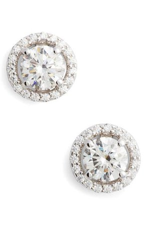 Lafonn Simulated Diamond Stud Earrings | Nordstrom