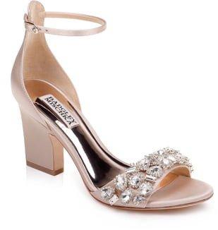 Laraine Embellished Ankle Strap Sandal