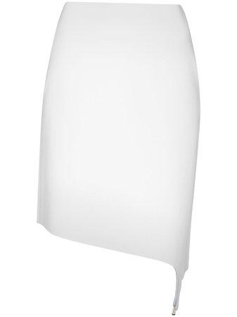 Coperni, high-waist Asymmetric Skirt