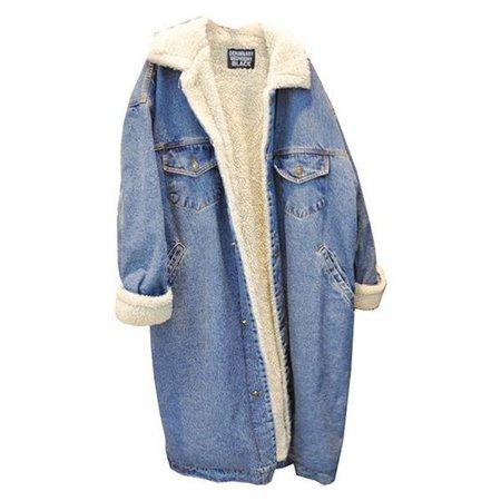 Denim Fleece Line Jacket