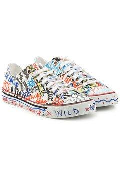 Vetements - Graffiti Sneakers - multicolored