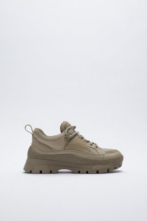 COMBINATION LUG SNEAKERS | ZARA United States