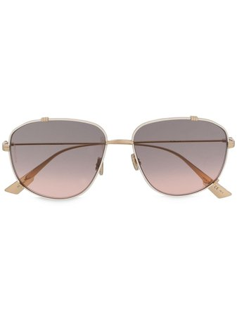 Dior Eyewear Monsieur 3 Sunglasses - Farfetch