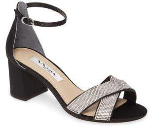 Nolita Crystal Ankle Strap Sandal