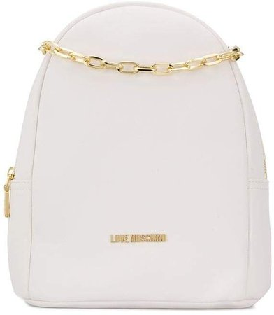 Small Backpack With Chain