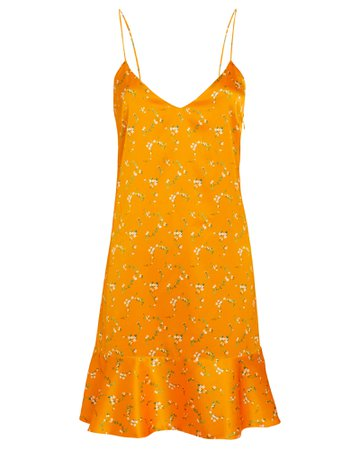 Tina Silk Slip Dress