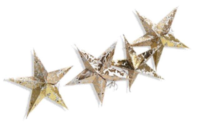 gold star decor
