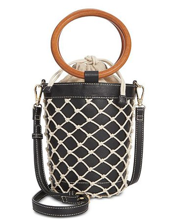INC International Concepts I.N.C. Fisherman Bucket Bag, Created for Macy's - Handbags & Accessories - Macy's