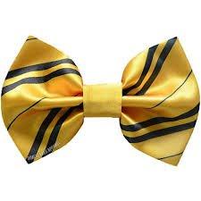 hufflepuff bow - Google Search