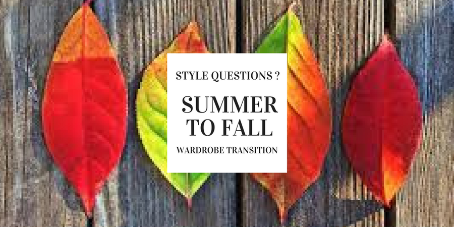 Ask the Stylist: How to Transition Summer Staples into Fall – I Style For A Living