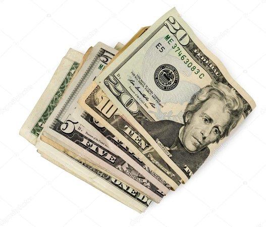 folded cash
