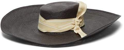 SENSI STUDIO  Cordovez wide-brim straw hat