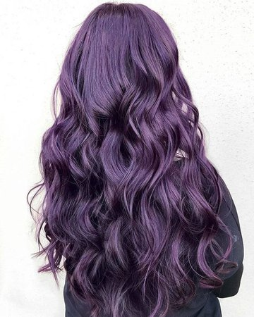 purple hhair
