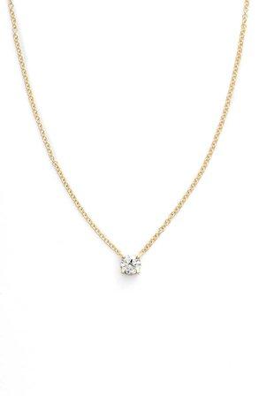 Bony Levy Liora Solitaire Diamond Pendant Necklace (Nordstrom Exclusive) | Nordstrom
