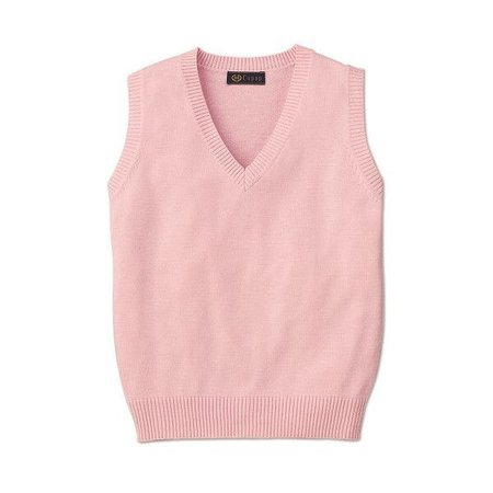 Passing-Fancy.com - Knit Sweaters and Vests for Japanese School (Pink)