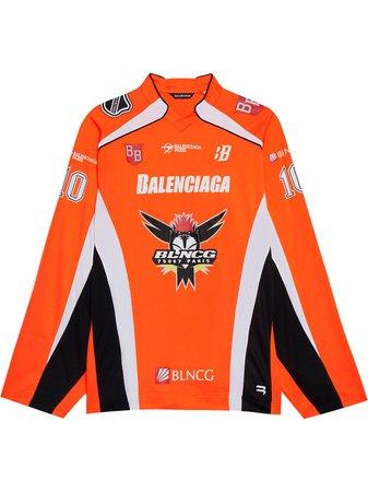 Balenciaga t-shirt à Design à Empiècements - Farfetch