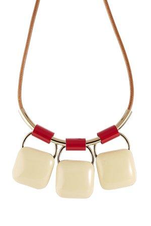 Triple Pendant Necklace Gr. One Size