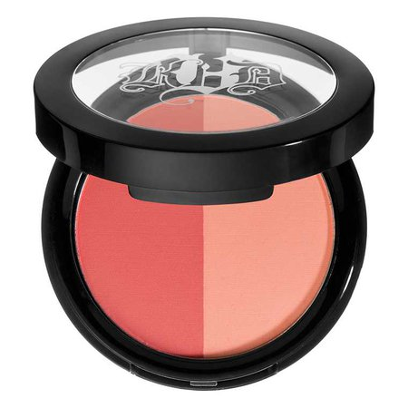 Two-Tone Blush (peach + orange)