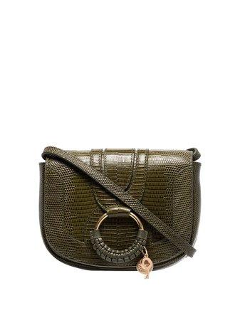 See By Chloé Hana Shoulder Bag With Crocodile Effect - Farfetch