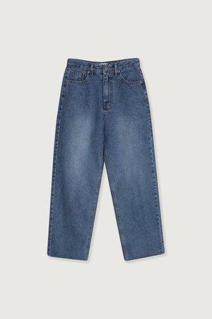 Straight Leg Jeans | OAK + FORT