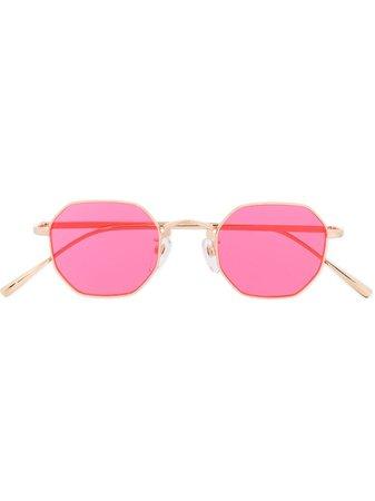 Undercover geometric-frame Sunglasses - Farfetch