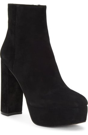 Vince Camuto Leslieon Square Toe Platform Boot (Women)   Nordstrom