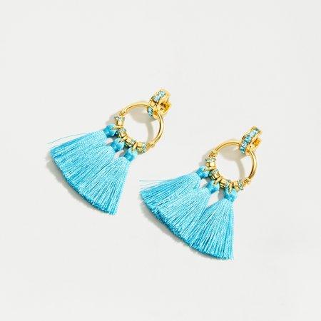 J.Crew: Pavé Tassel Earrings