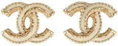 chanel earrings gold - Google Search