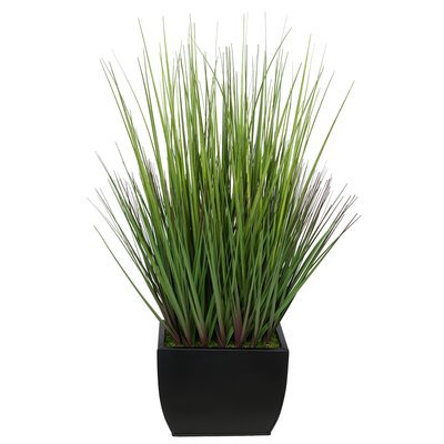 Orren Ellis Artificial Spring Time Easter Desktop Grass | Wayfair