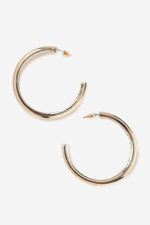 **Gold Mini Twist Hoops - Jewellery - Bags & Accessories - Topshop