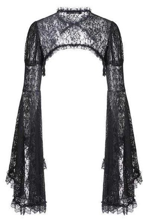 Gothic Lace Cape with big sleeves