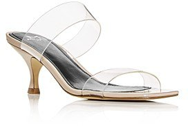 Women's Guadia 2 Snake-Embossed Mid-Heel Sandals