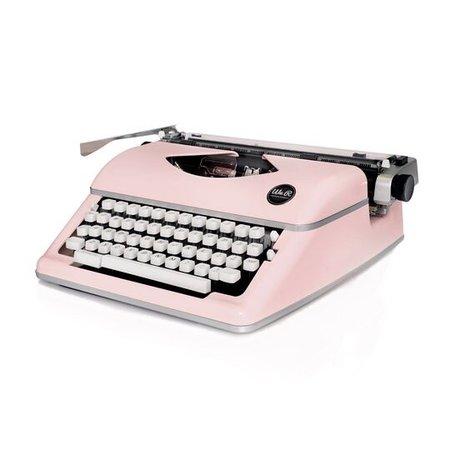 baby pink typewriter