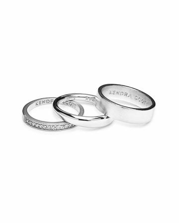 silver ring set - Google Search