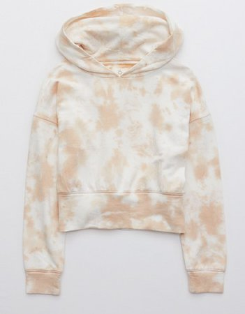 OFFLINE OTT Fleece Cropped Hoodie nude