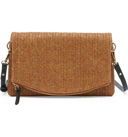 Sole Society Textured Faux Leather Clutch | Nordstrom