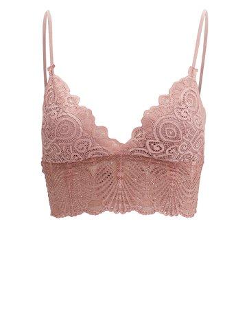 Blush Lace Bralette