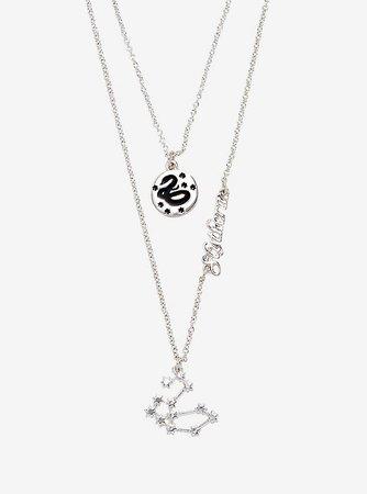 Harry Potter Slytherin Constellation Necklace