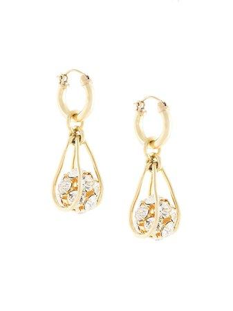 Ellery Pave Ball Earrings   Farfetch.com